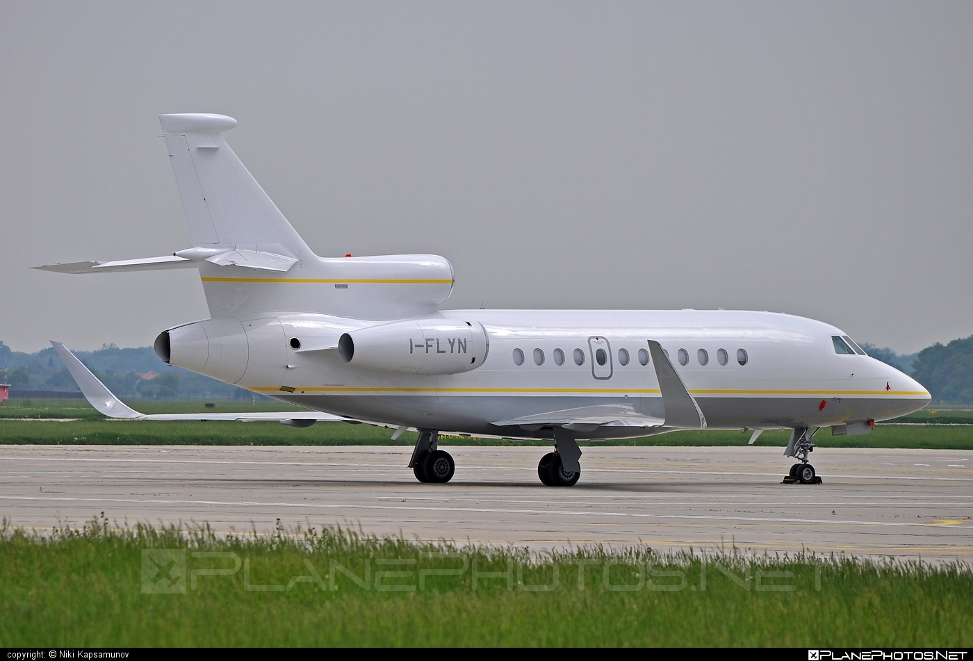 Dassault Falcon 900EX - I-FLYN operated by Private operator #dassault