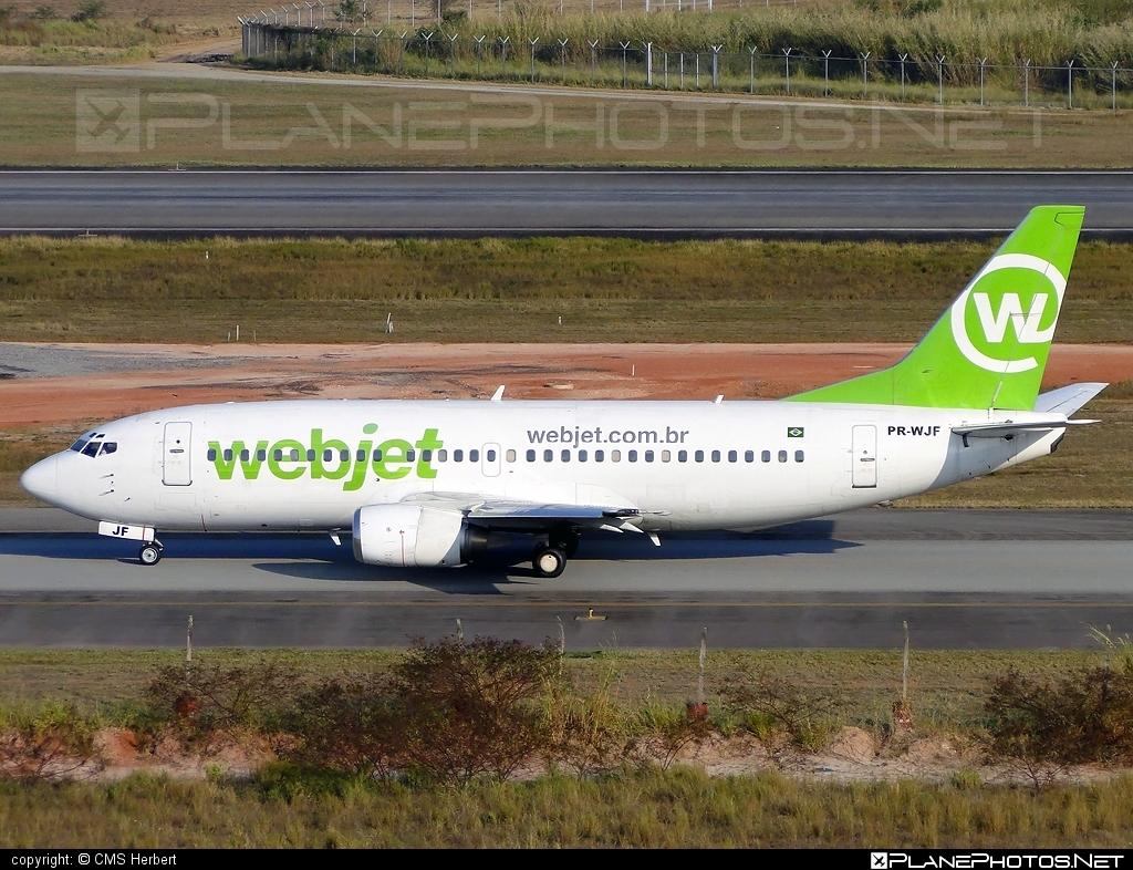 Boeing 737-300 - PR-WJF operated by WebJet Linhas Aéreas #b737 #boeing #boeing737