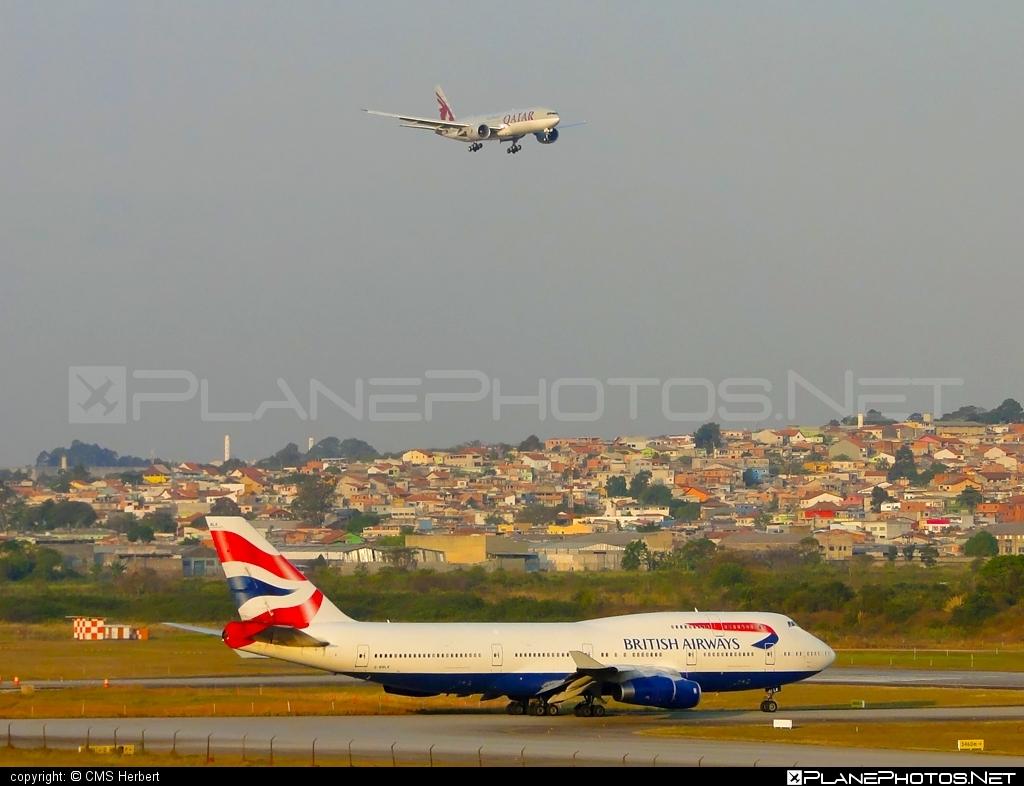 Boeing 747-400 - G-BNLK operated by British Airways #b747 #boeing #boeing747 #britishairways #jumbo