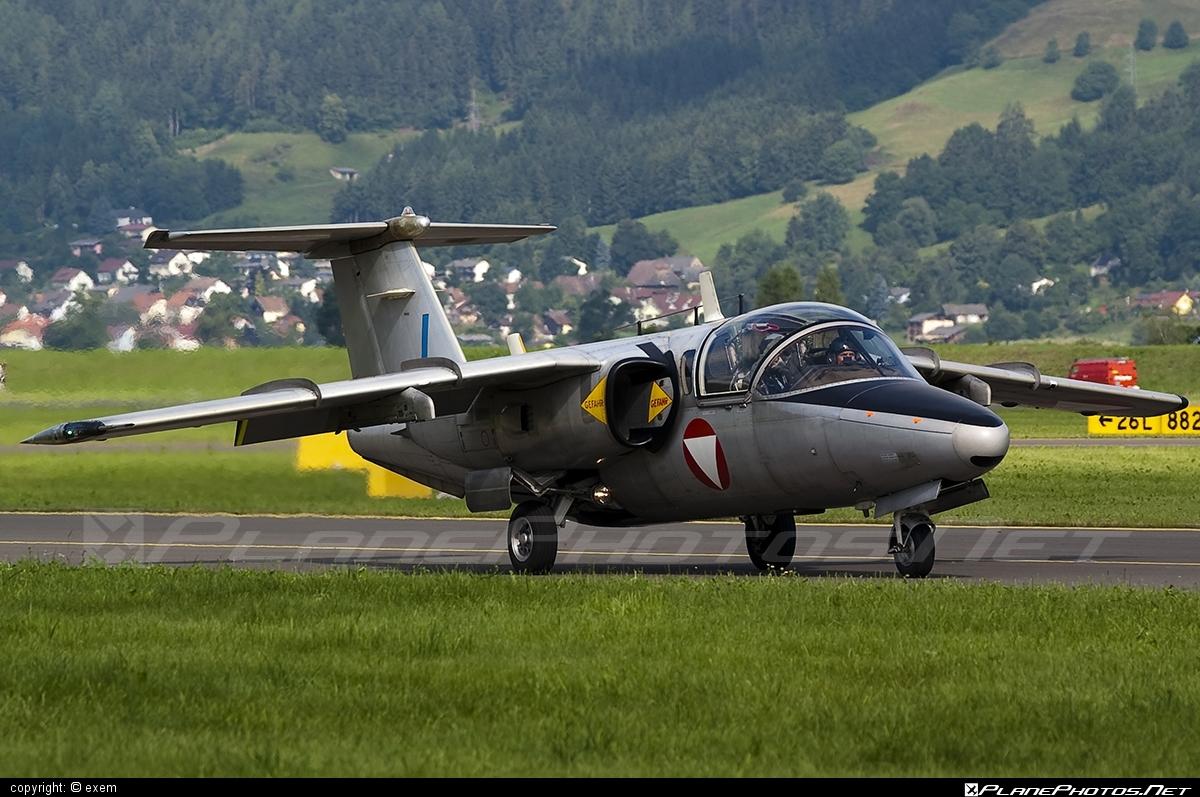 Saab 105OE - BJ-40 operated by Österreichische Luftstreitkräfte (Austrian Air Force) #airpower #airpower2009 #austrianairforce #saab