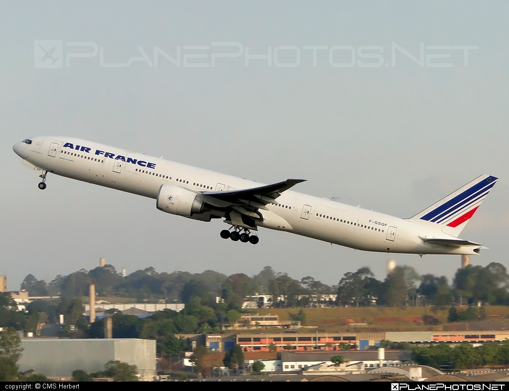 Boeing 777-300ER - F-GSQF operated by Air France #airfrance #b777 #b777er #boeing #boeing777 #tripleseven