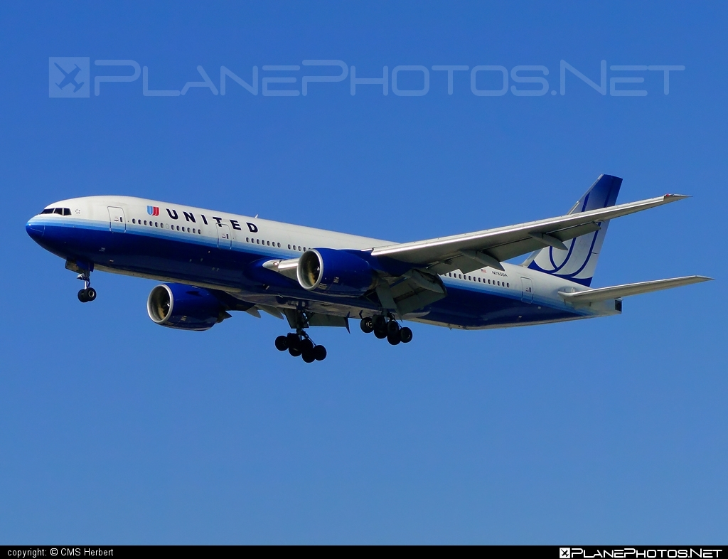 Boeing 777-200ER - N785UA operated by United Airlines #b777 #b777er #boeing #boeing777 #tripleseven #unitedairlines