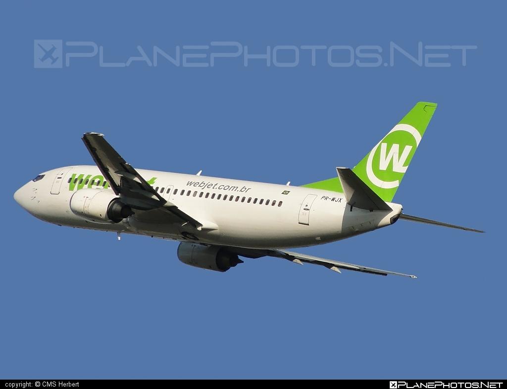 Boeing 737-300 - PR-WJX operated by WebJet Linhas Aéreas #b737 #boeing #boeing737