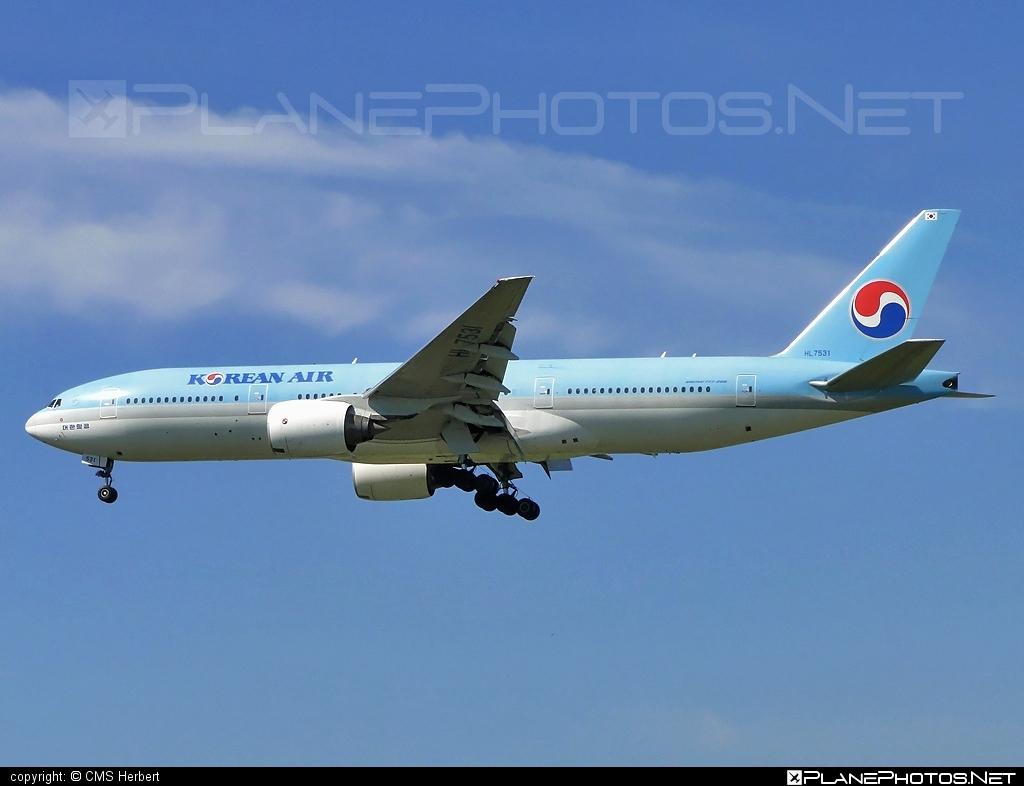Boeing 777-200ER - HL7531 operated by Korean Air #b777 #b777er #boeing #boeing777 #koreanair #tripleseven