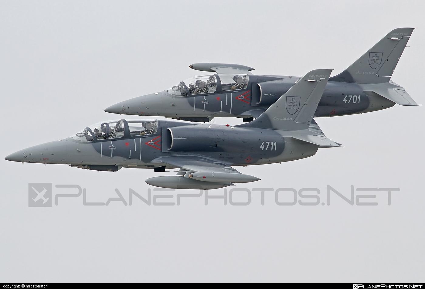 Vzdušné sily OS SR (Slovak Air Force) Aero L-39ZAM Albatros - 4711 #aero #slovakairforce #vzdusnesilyossr