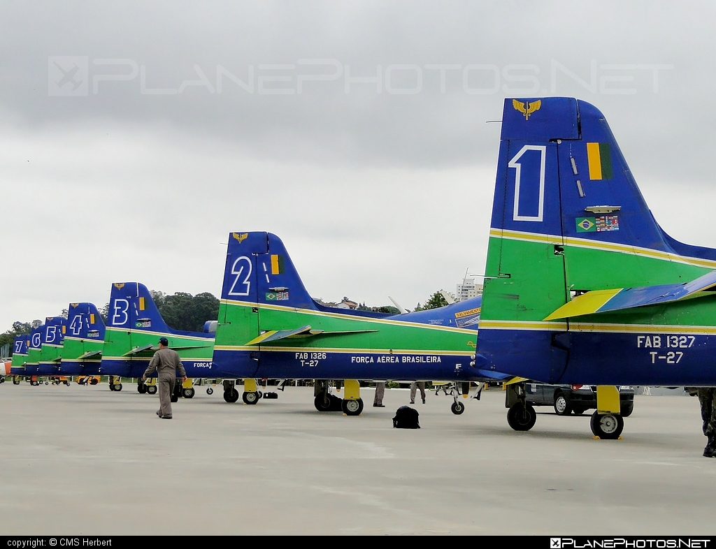 Embraer T-27 Tucano - FAB1326 operated by Força Aérea Brasileira (Brazilian Air Force) #embraer #tucano