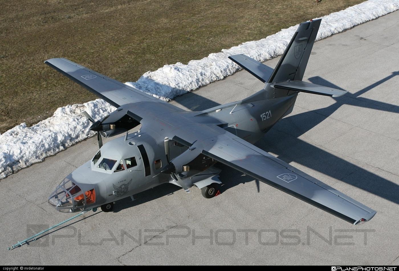 Let L-410FG Turbolet - 1521 operated by Vzdušné sily OS SR (Slovak Air Force) #let #slovakairforce #vzdusnesilyossr