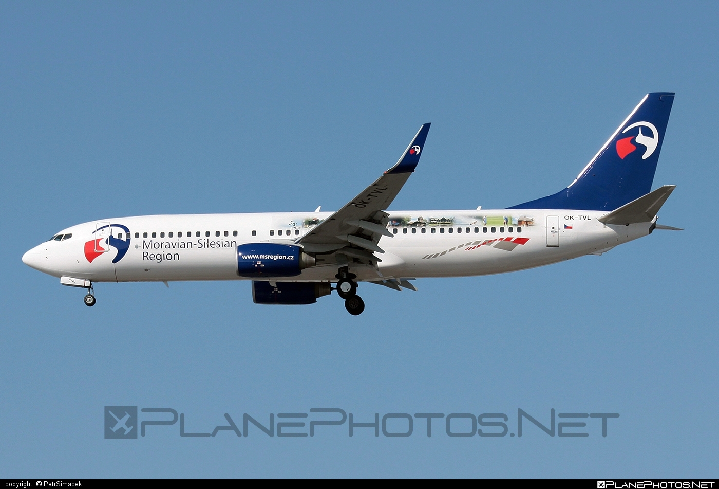 Boeing 737-800 - OK-TVL operated by Travel Service #b737 #b737nextgen #b737ng #boeing #boeing737 #travelservice