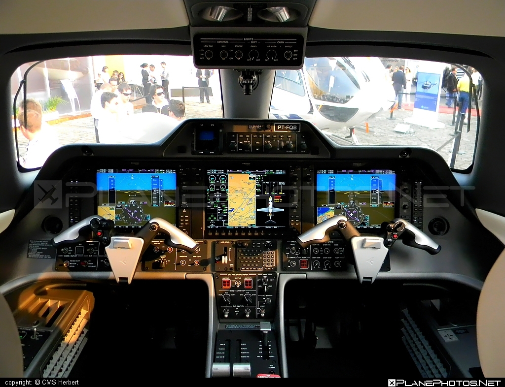Embraer 500 Phenom 100 - PT-FQB operated by Embraer #embraer