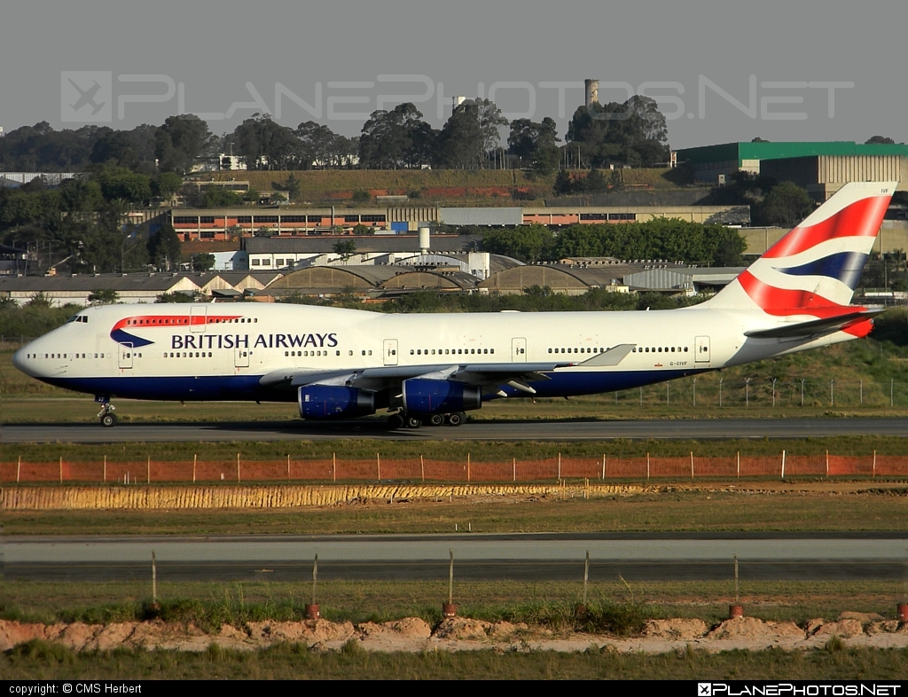 Boeing 747-400 - G-CIVF operated by British Airways #b747 #boeing #boeing747 #britishairways #jumbo