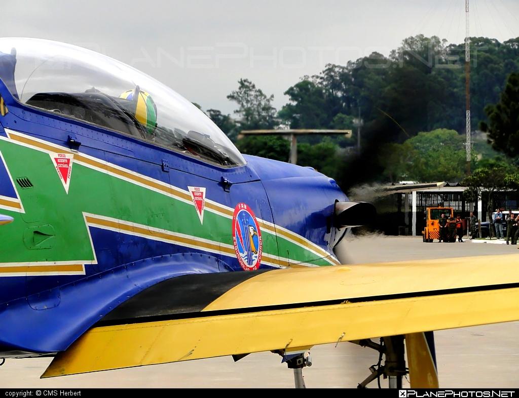 Embraer T-27 Tucano - FAB1314 operated by Força Aérea Brasileira (Brazilian Air Force) #embraer #tucano