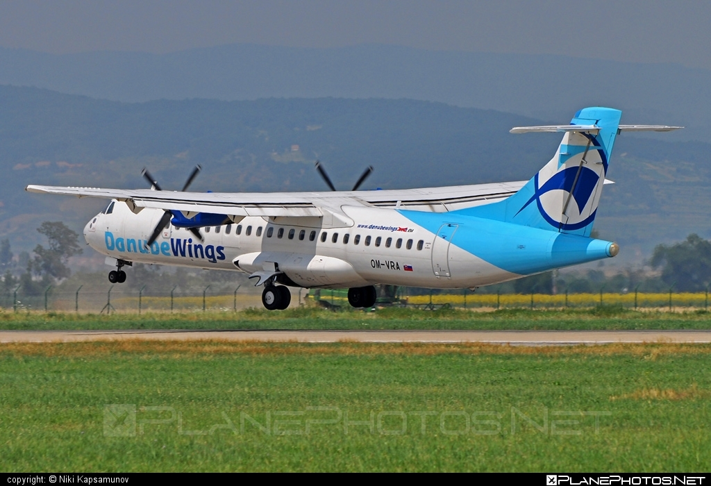 ATR 72-202 - OM-VRA operated by Danube Wings #atr