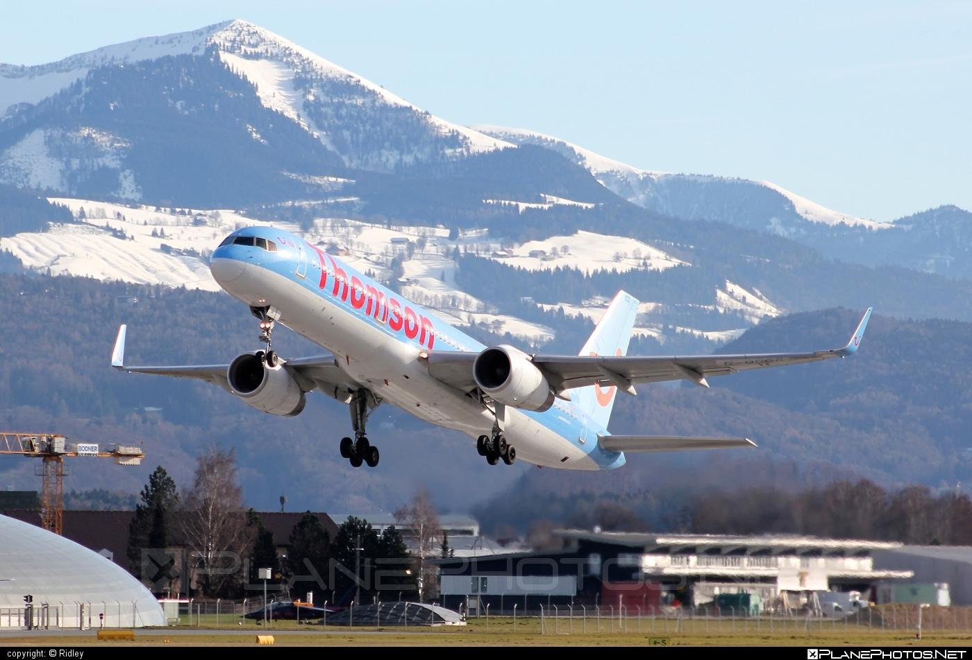 Boeing 757-200 - G-OOBR operated by Thomson Airways #b757 #boeing #boeing757