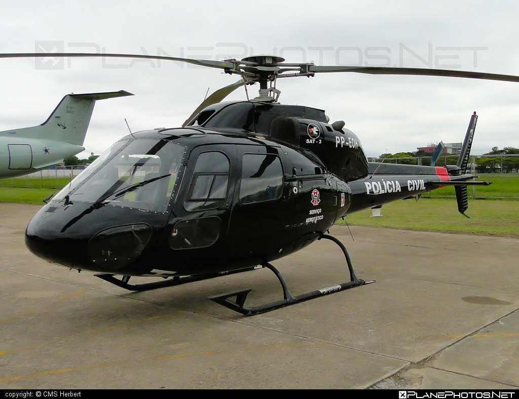 Eurocopter AS355 F2 Ecureuil 2 - PP-EOH operated by Polícia Civil (Brazilian Civil Police) #eurocopter