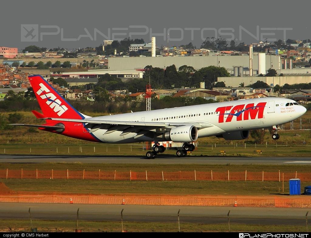 Airbus A330-203 - PT-MVH operated by TAM Linhas Aéreas #a330 #a330family #airbus #airbus330 #tam #tamairlines #tamlinhasaereas