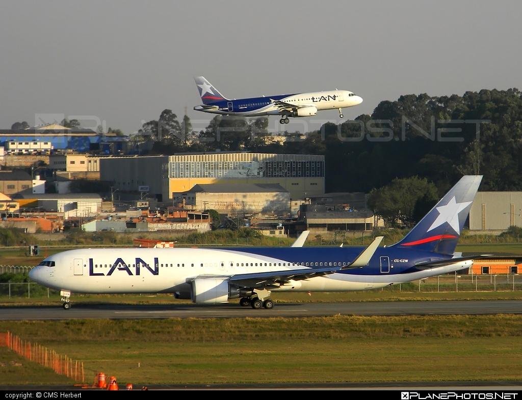 Boeing 767-300ER - CC-CZW operated by LAN #b767 #b767er #boeing #boeing767