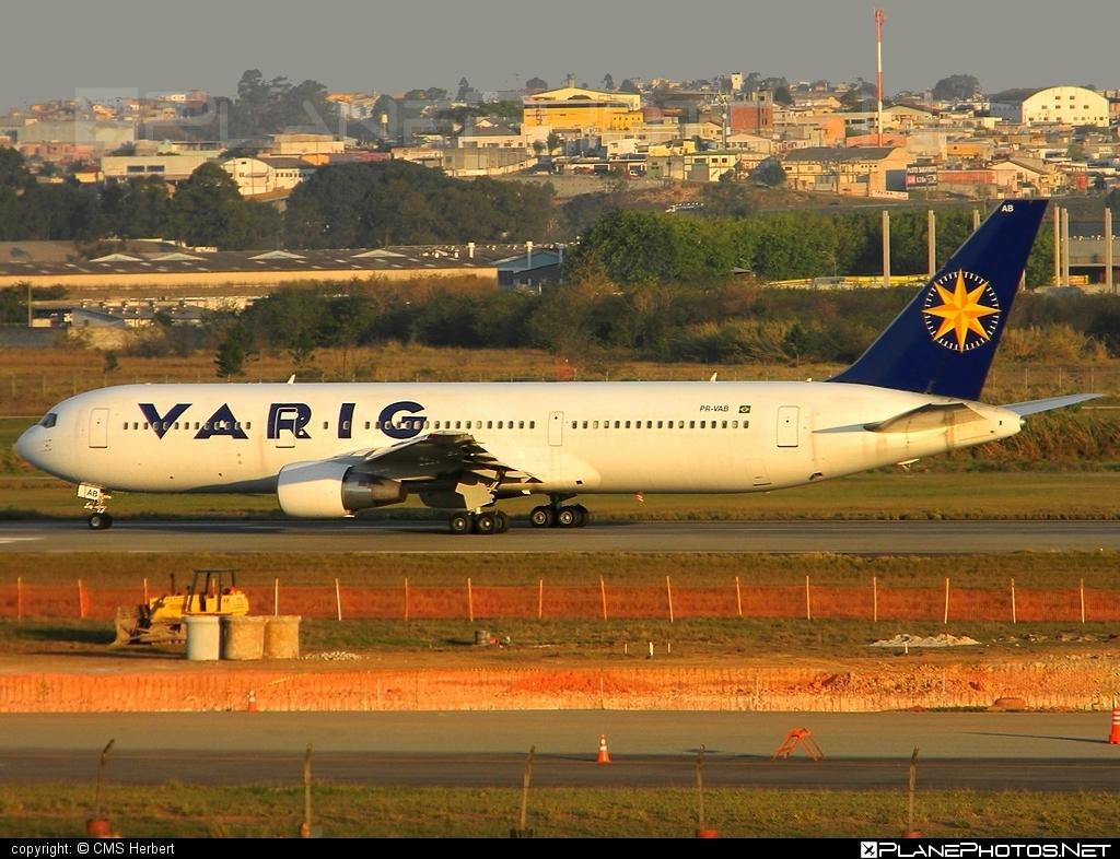 Boeing 767-300ER - PR-VAB operated by Varig #b767 #b767er #boeing #boeing767