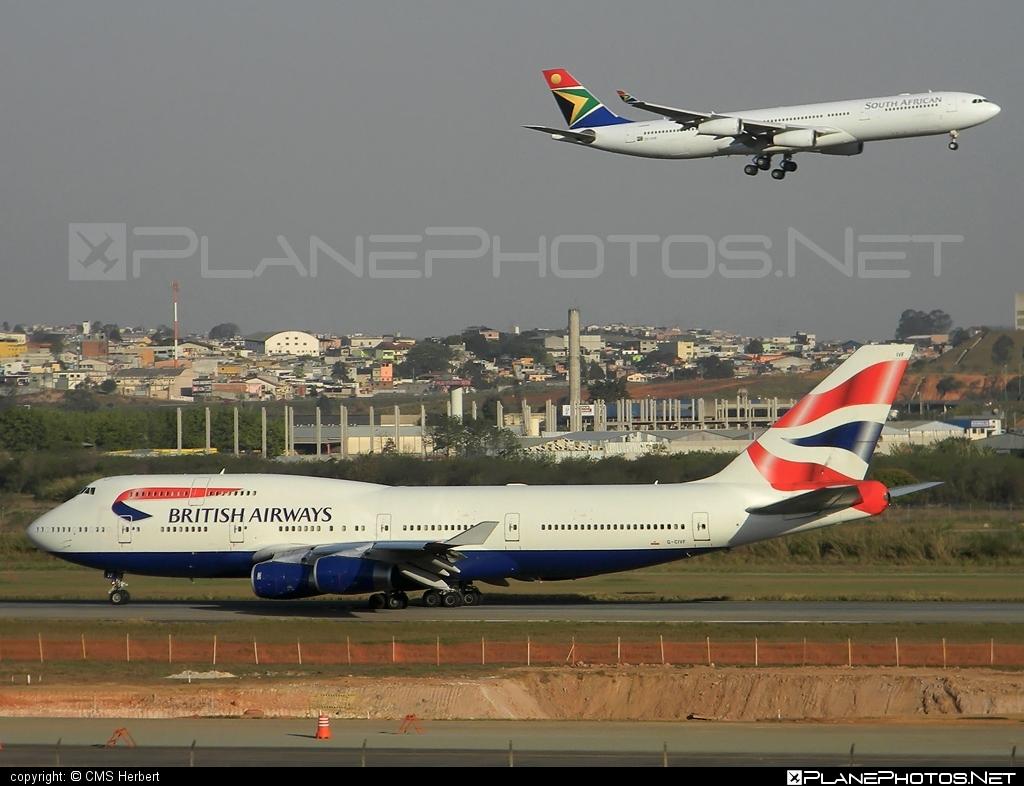 Boeing 747-400 - G-CIVF operated by British Airways #b747 #boeing #boeing747 #britishairways #jumbo
