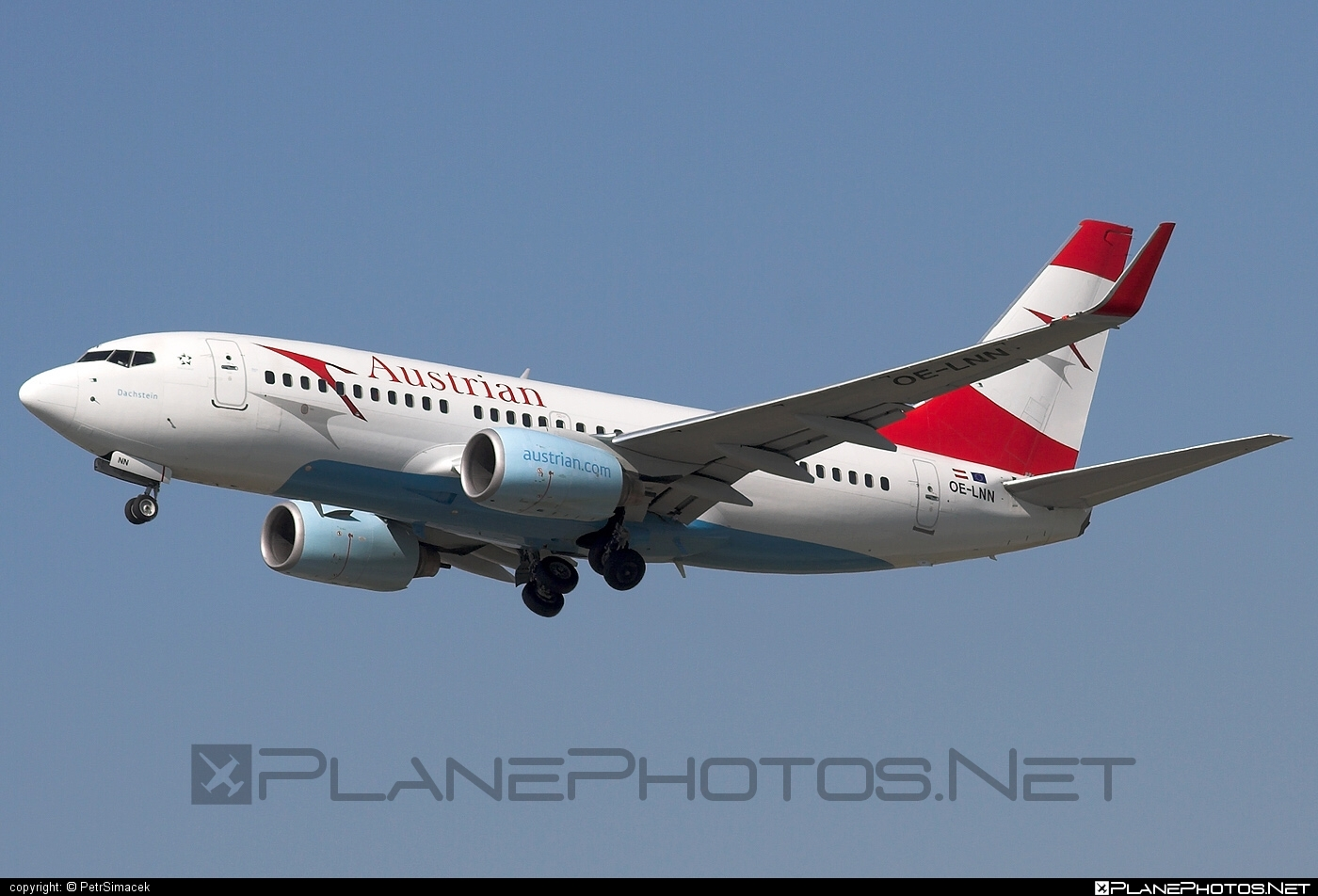 Boeing 737-700 - OE-LNN operated by Austrian Airlines #b737 #b737nextgen #b737ng #boeing #boeing737