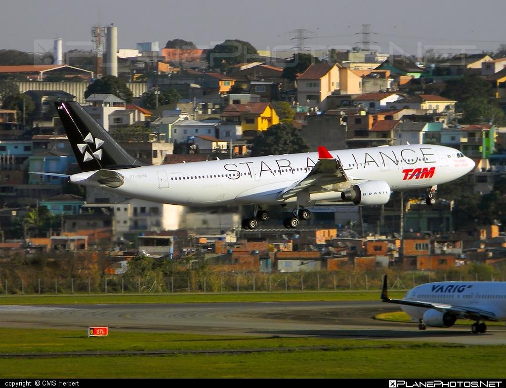 Airbus A330-223 - PT-MVM operated by TAM Linhas Aéreas #a330 #a330family #airbus #airbus330 #staralliance #tam #tamairlines #tamlinhasaereas