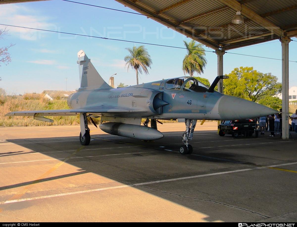 Dassault Mirage F-2000C - FAB4948 operated by Força Aérea Brasileira (Brazilian Air Force) #dassault