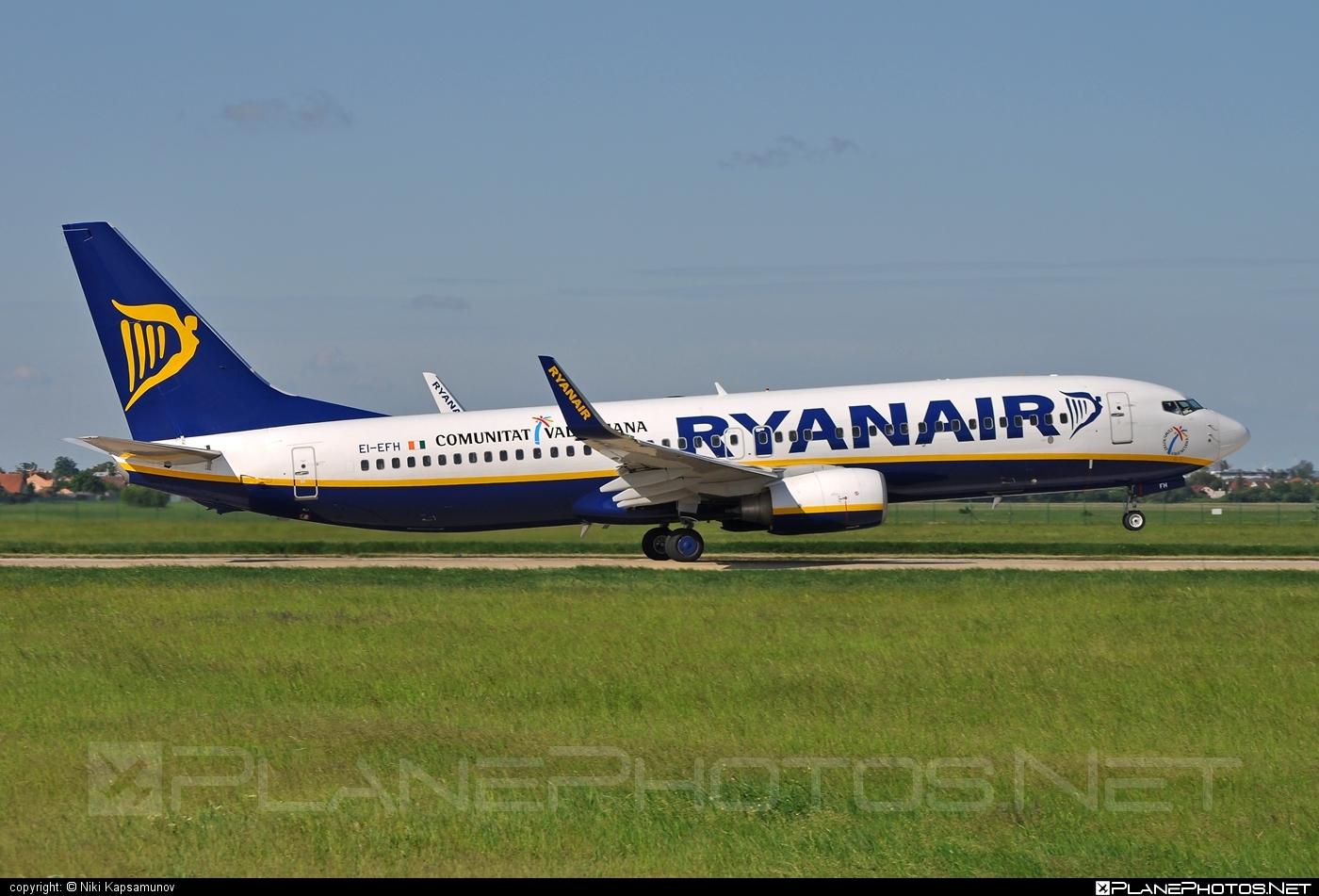 Ryanair Boeing 737-800 - EI-EFH #b737 #b737nextgen #b737ng #boeing #boeing737 #ryanair