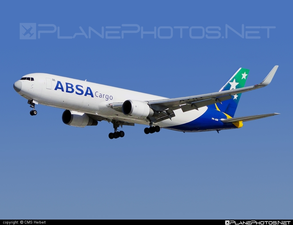 Boeing 767-300F - PR-ABB operated by ABSA Cargo Airline #b767 #b767f #b767freighter #boeing #boeing767