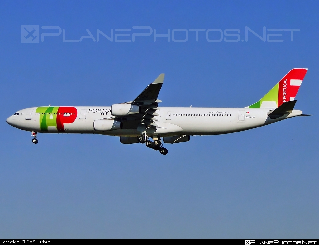 Airbus A340-312 - CS-TOB operated by TAP Portugal #a340 #a340family #airbus #airbus340