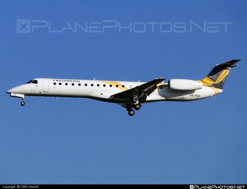Embraer ERJ-145MP - PR-PSR operated by Passaredo Linhas Aéreos #embraer