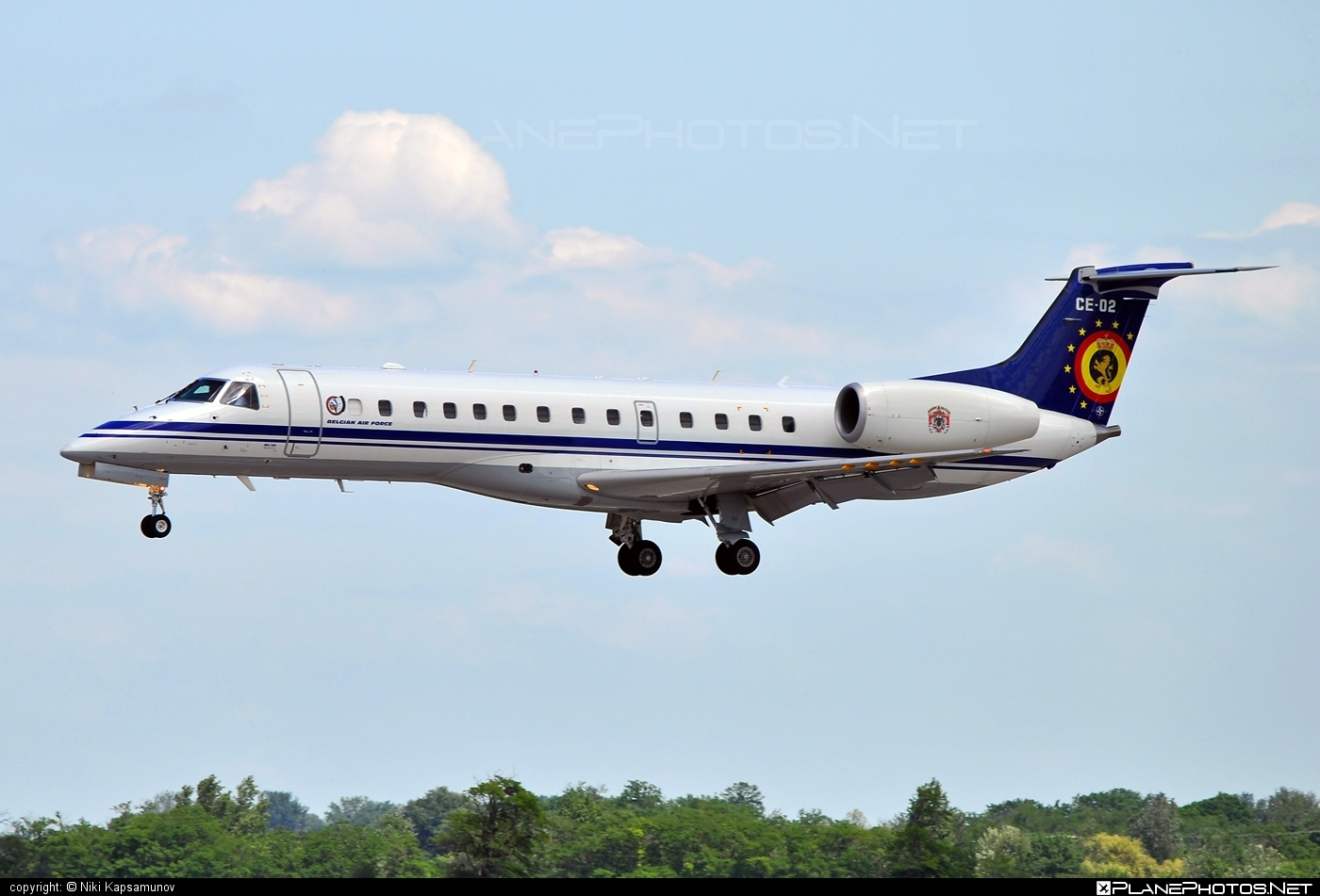 Embraer ERJ-135LR - CE-02 operated by Luchtcomponent (Belgian Air Force) #belgianairforce #embraer #luchtcomponent