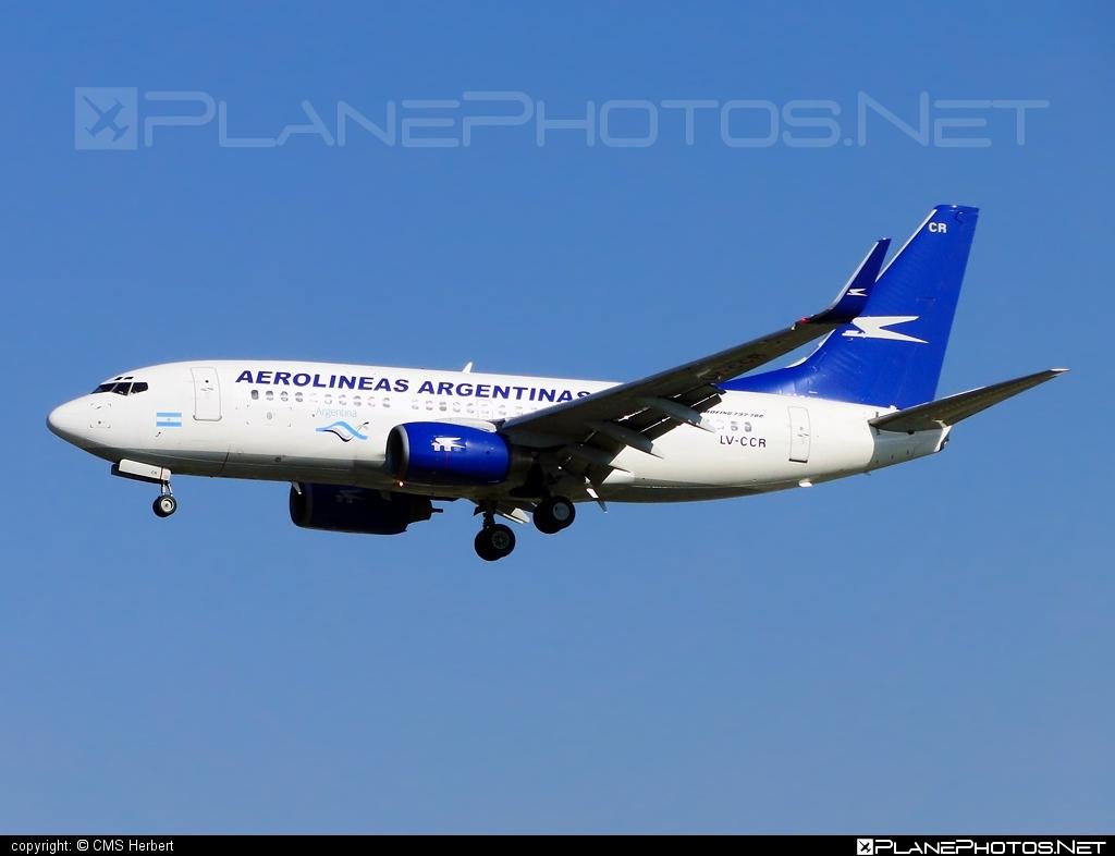 Boeing 737-700 - LV-CCR operated by Aerolíneas Argentinas #b737 #b737nextgen #b737ng #boeing #boeing737
