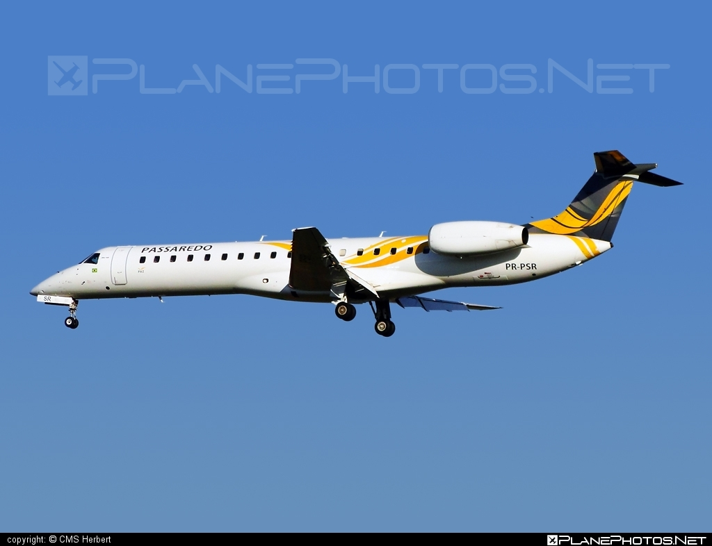 Embraer ERJ-145MP - PR-PSR operated by Passaredo Linhas Aéreos #embraer