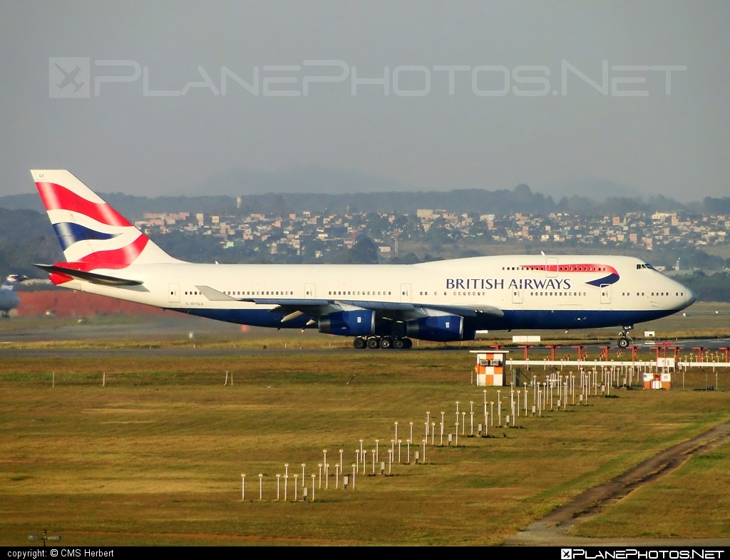 Boeing 747-400 - G-BYGA operated by British Airways #b747 #boeing #boeing747 #britishairways #jumbo