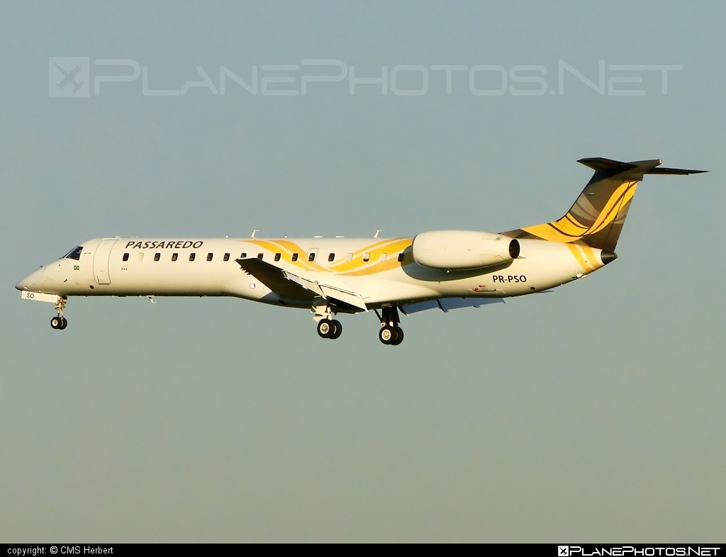 Embraer ERJ-145MP - PR-PSO operated by Passaredo Linhas Aéreos #embraer