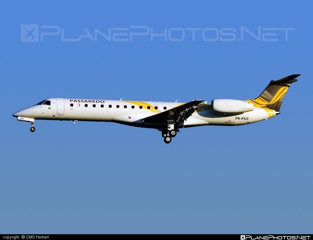 Embraer ERJ-145MP - PR-PSO operated by Passaredo Linhas Aéreos #embraer