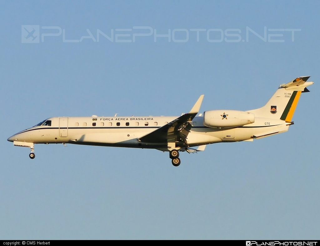 Embraer VC-99B - FAB2583 operated by Força Aérea Brasileira (Brazilian Air Force) #embraer