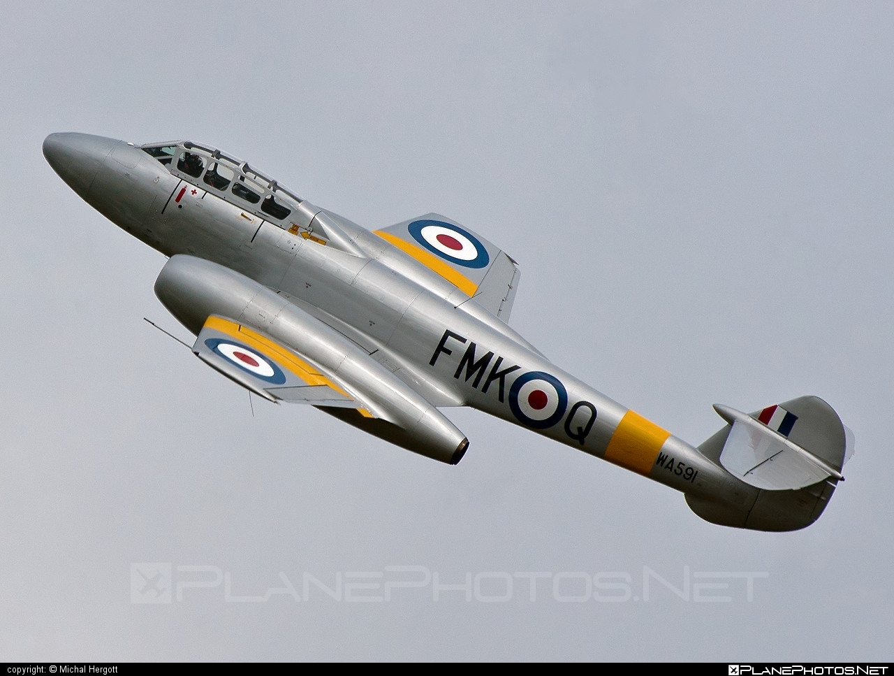 Gloster Meteor T.7 - G-BWMF operated by Private operator #gloster