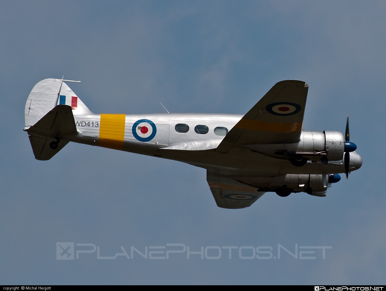 Avro Anson T.21 - G-VROE operated by Private operator #avro