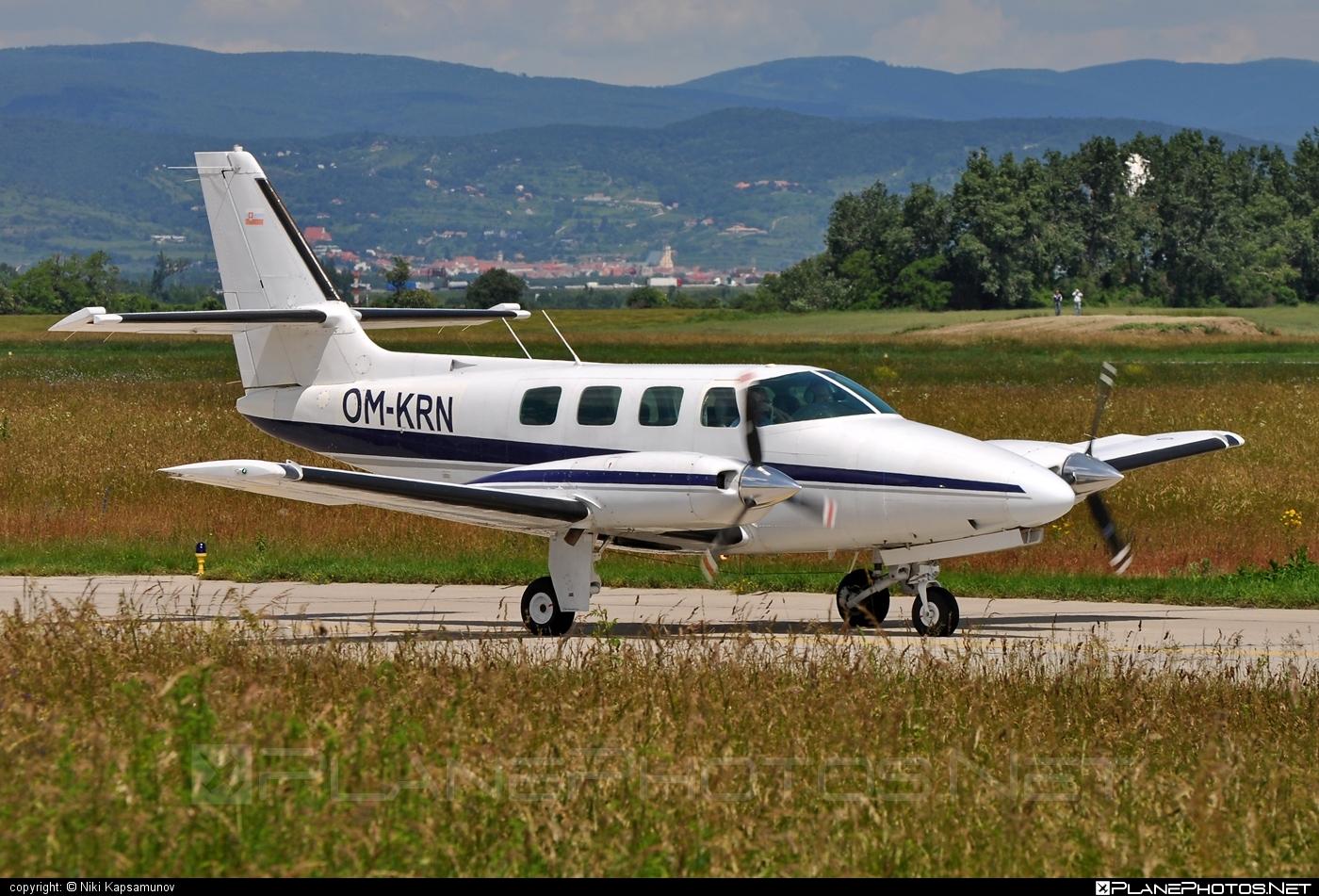 Cessna T303 Crusader - OM-KRN operated by Air Carpatia #cessna