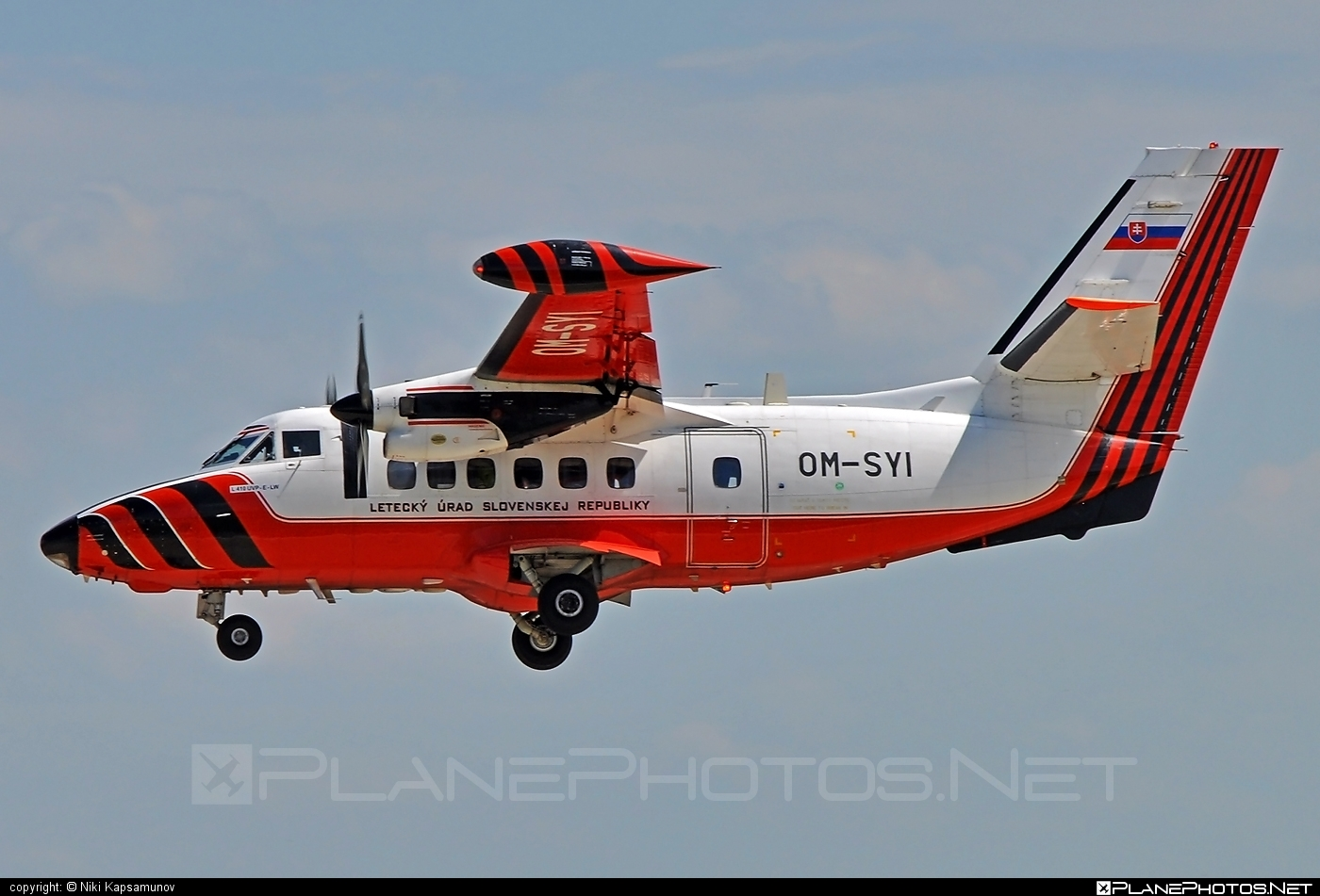 Let L-410UVP-E Turbolet - OM-SYI operated by Letecký úrad SR (Civil Aviation Authority of the Slovak Republic) #let