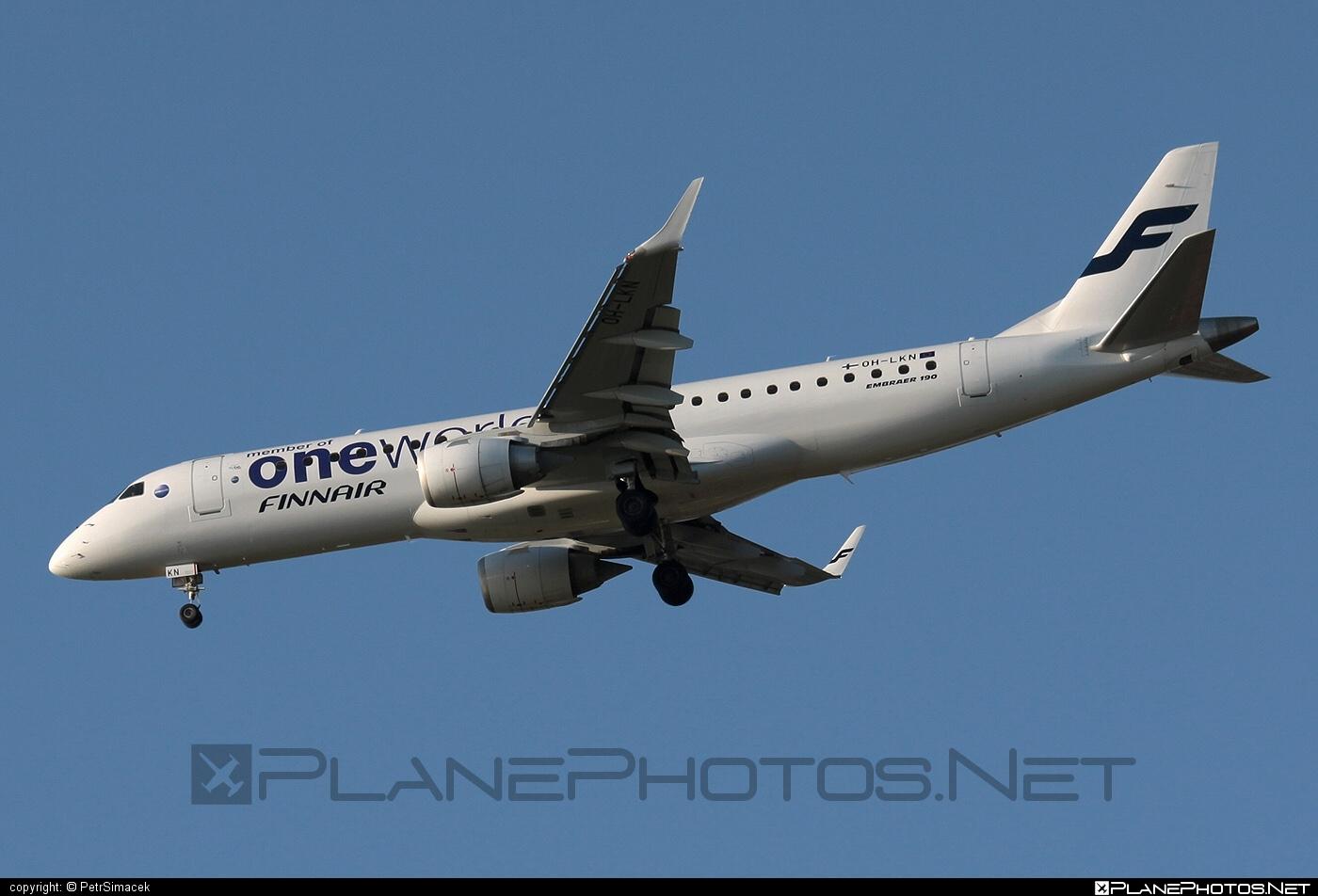 Embraer E190LR (ERJ-190-100LR) - OH-LKN operated by Finnair #e190 #e190100 #e190100lr #e190lr #embraer #embraer190 #embraer190100lr #embraer190lr #finnair #oneworld