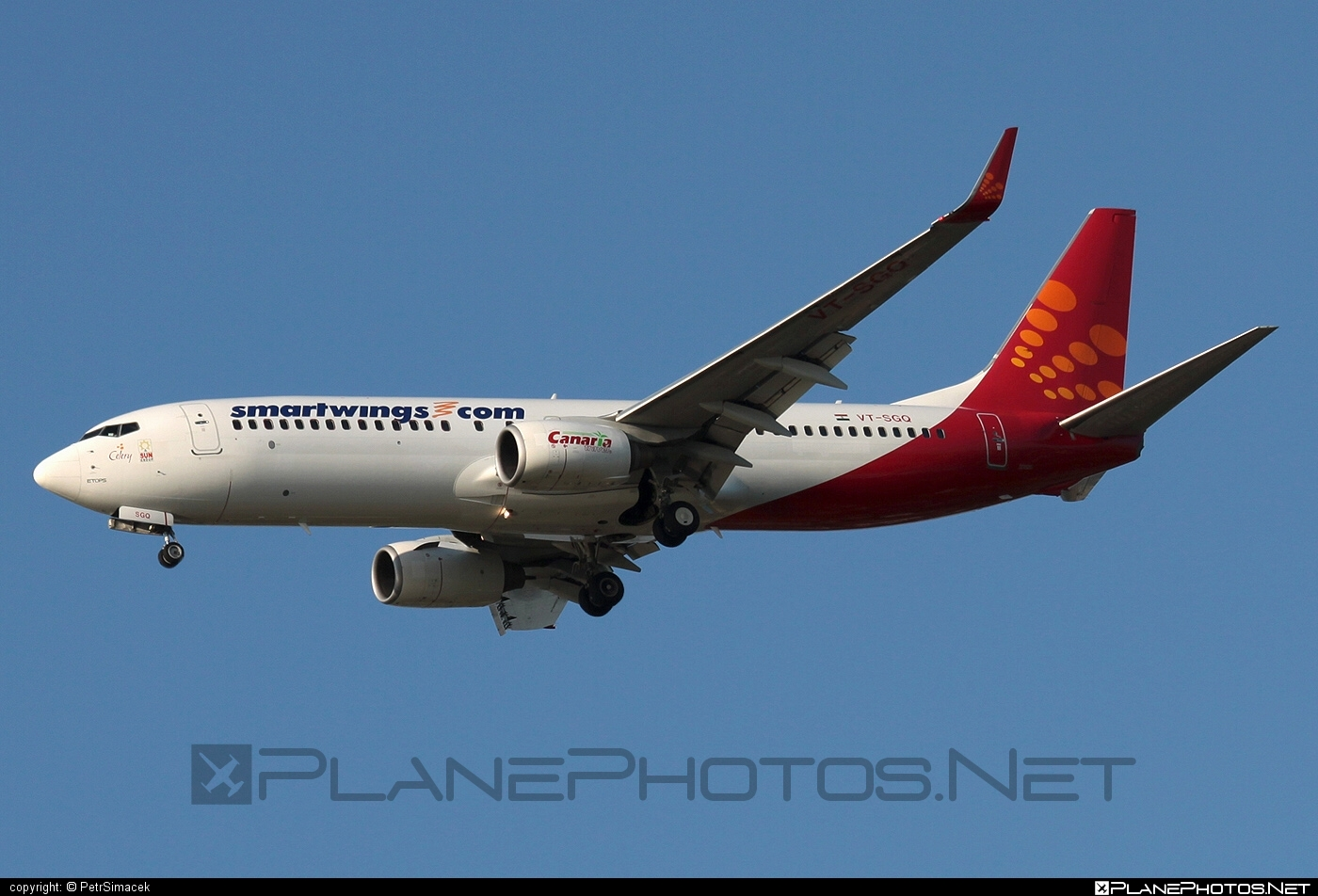 Boeing 737-800 - VT-SGQ operated by Smart Wings #b737 #b737nextgen #b737ng #boeing #boeing737 #smartwings