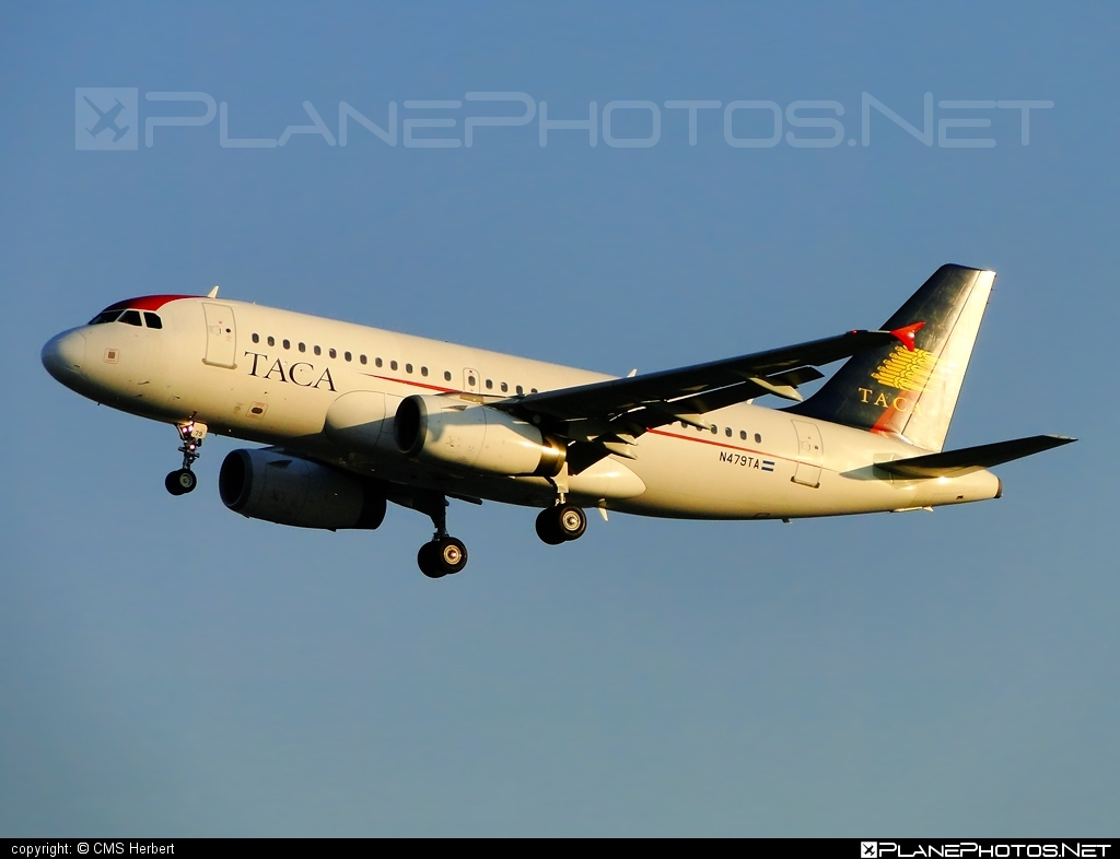 Airbus A319-132 - N479TA operated by TACA International Airlines #a319 #a320family #airbus #airbus319