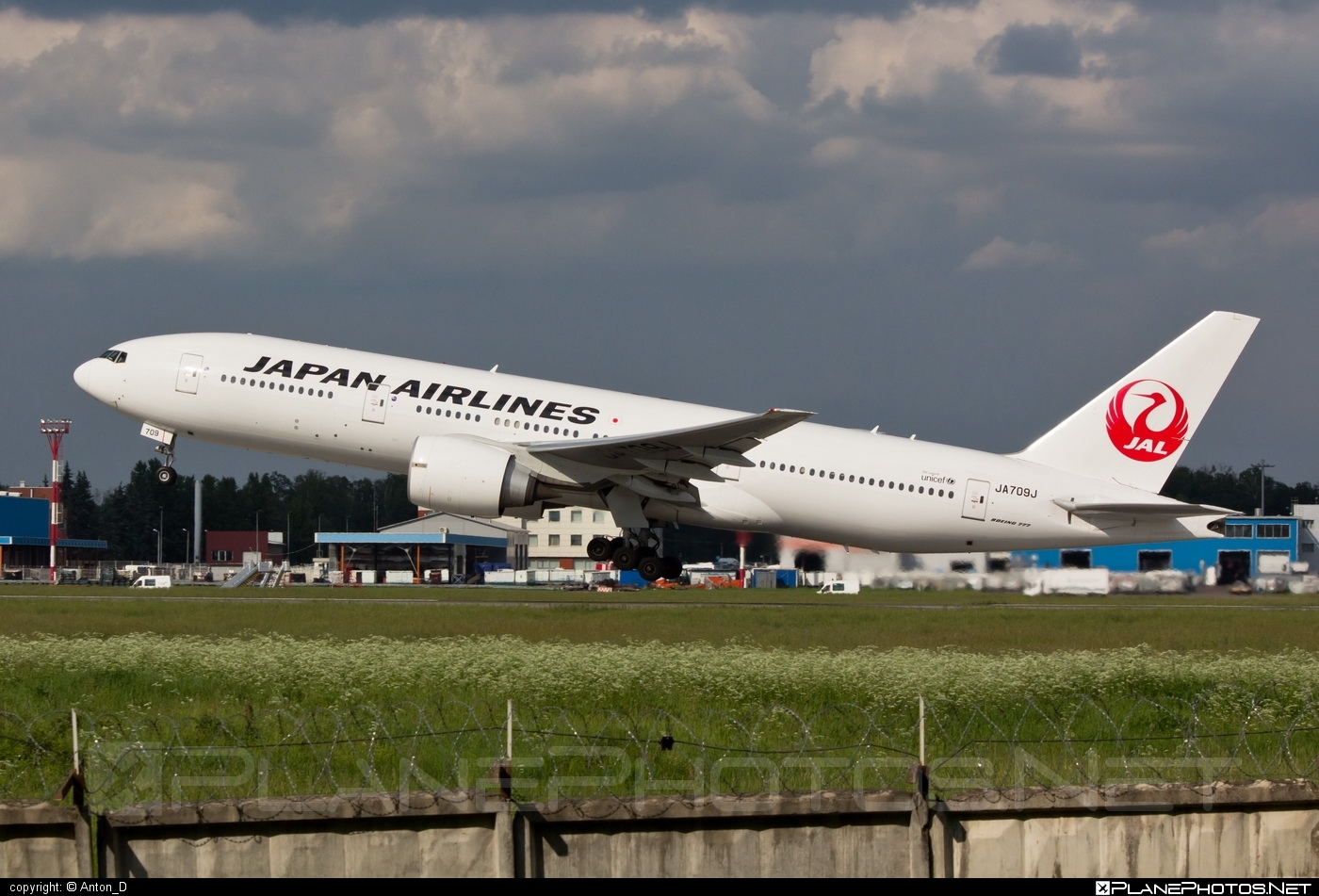 Boeing 777-200ER - JA709J operated by Japan Airlines (JAL) #b777 #b777er #boeing #boeing777 #tripleseven