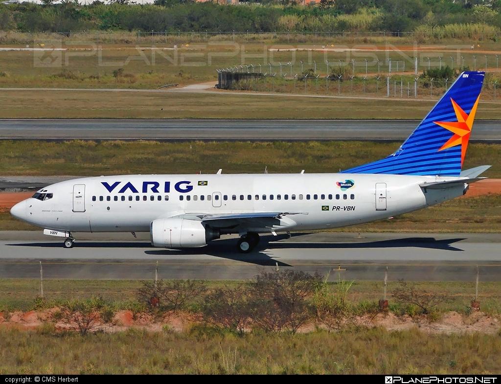 Boeing 737-700 - PR-VBN operated by Varig #b737 #b737nextgen #b737ng #boeing #boeing737