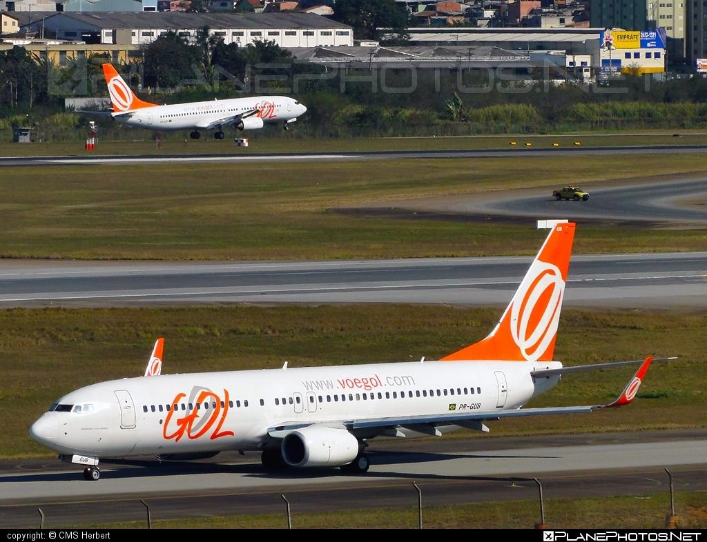 Boeing 737-800 - PR-GUB operated by GOL Linhas Aéreas Inteligentes #b737 #b737nextgen #b737ng #boeing #boeing737