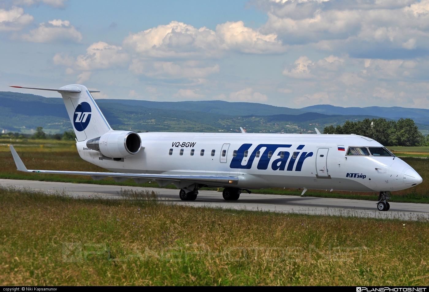 Bombardier CRJ200LR - VQ-BGW operated by UTair Aviation #bombardier #crj200 #crj200lr #utair #utairaviation