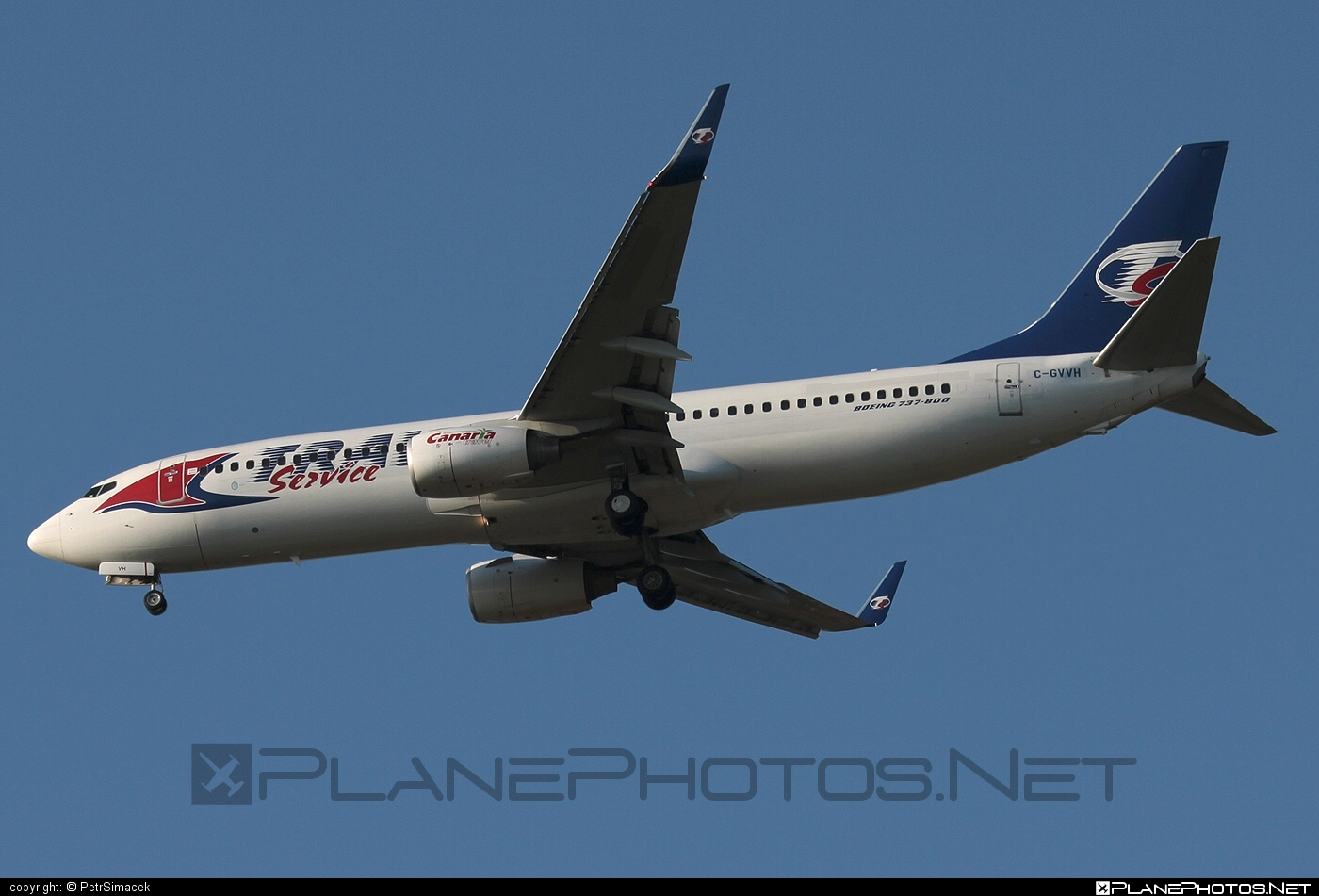 Boeing 737-800 - C-GVVH operated by Travel Service #b737 #b737nextgen #b737ng #boeing #boeing737 #travelservice