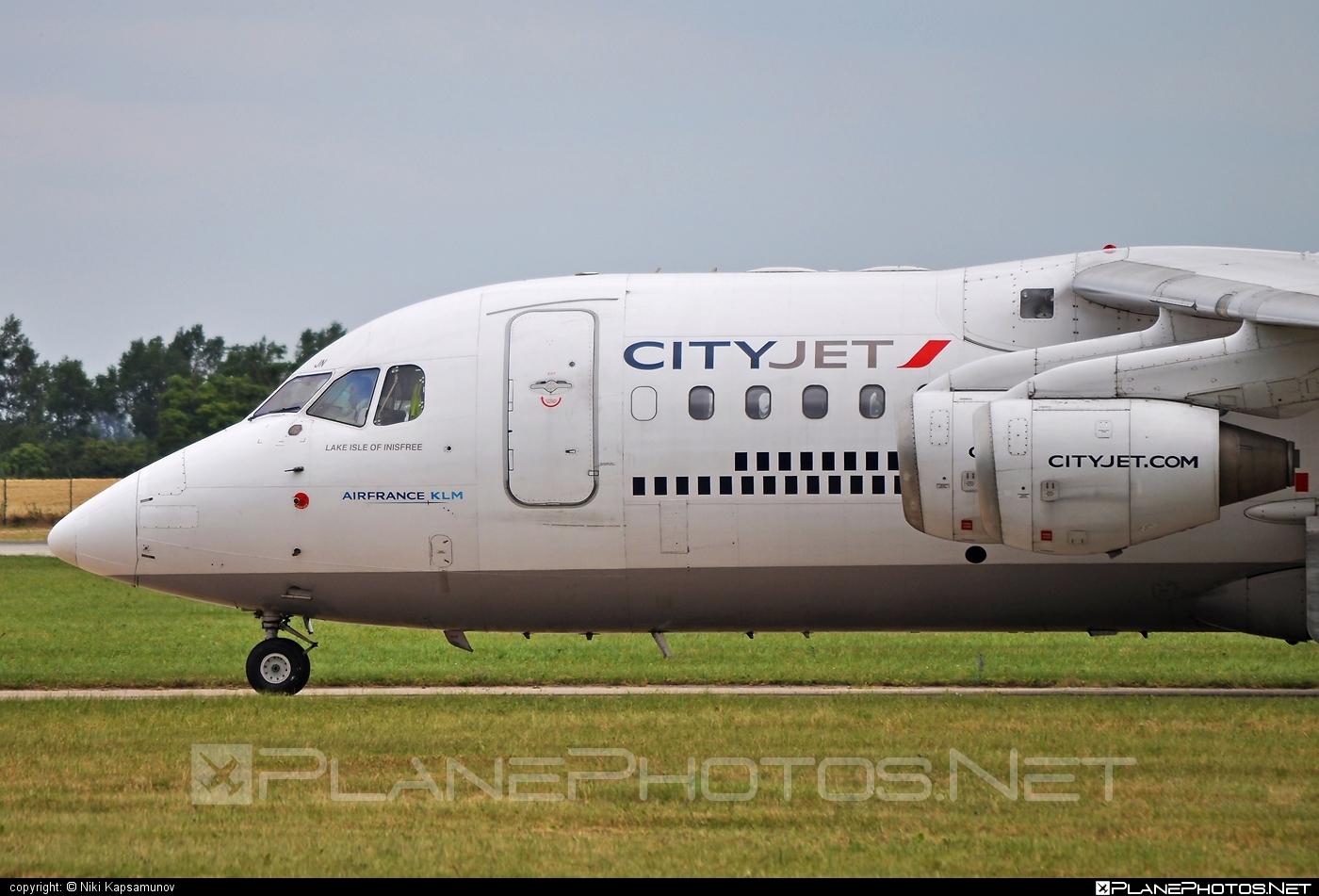 British Aerospace Avro RJ85 - EI-RJN operated by CityJet #avro146rj85 #avrorj85 #bae146 #britishaerospace