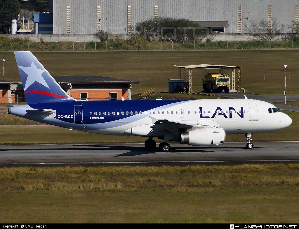 Airbus A319-132 - CC-BCC operated by LAN #a319 #a320family #airbus #airbus319